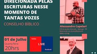 LIVE Conselho Bíblico - A importância de ter a mente aconselhada pelas Escrituras