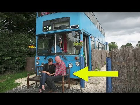 This Double-Decker Bus Is A Home – And Inside It's Truly Extraordinary
