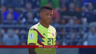 World Cup 2018 - Colombia vs Japan - Group H Full Match Sim (FIFA 18)