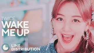 Cover images TWICE - Wake Me Up (Line Distribution)