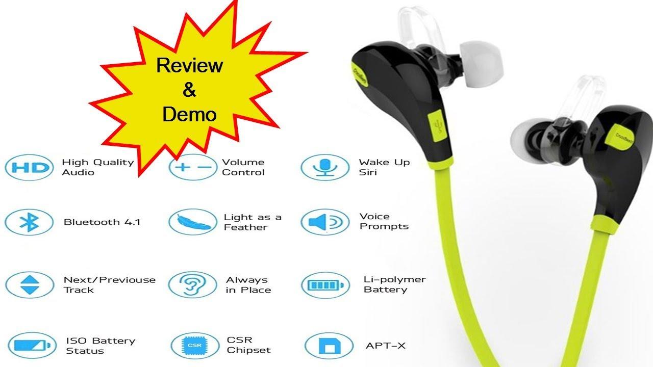 b0cf9519dcb Crossbeats Wireless Earphone   Crossbeats Wireless Bluetooth Headphone  Review