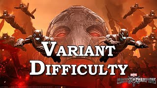 Variant Difficulty Ultron's Assault Quest | Marvel Contest of Champions Live Stream