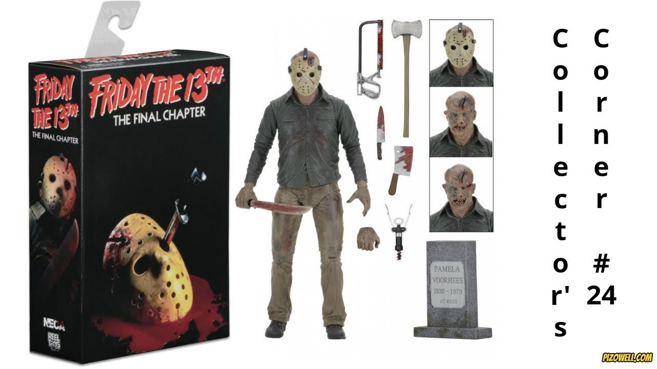 """Friday the 13th Part IV 3D JASON VOORHEES 7/"""" Scale Ultimate Action Figure"""
