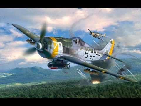FULL VIDEO BUILD REVELL Focke Wulf Fw190 F-8