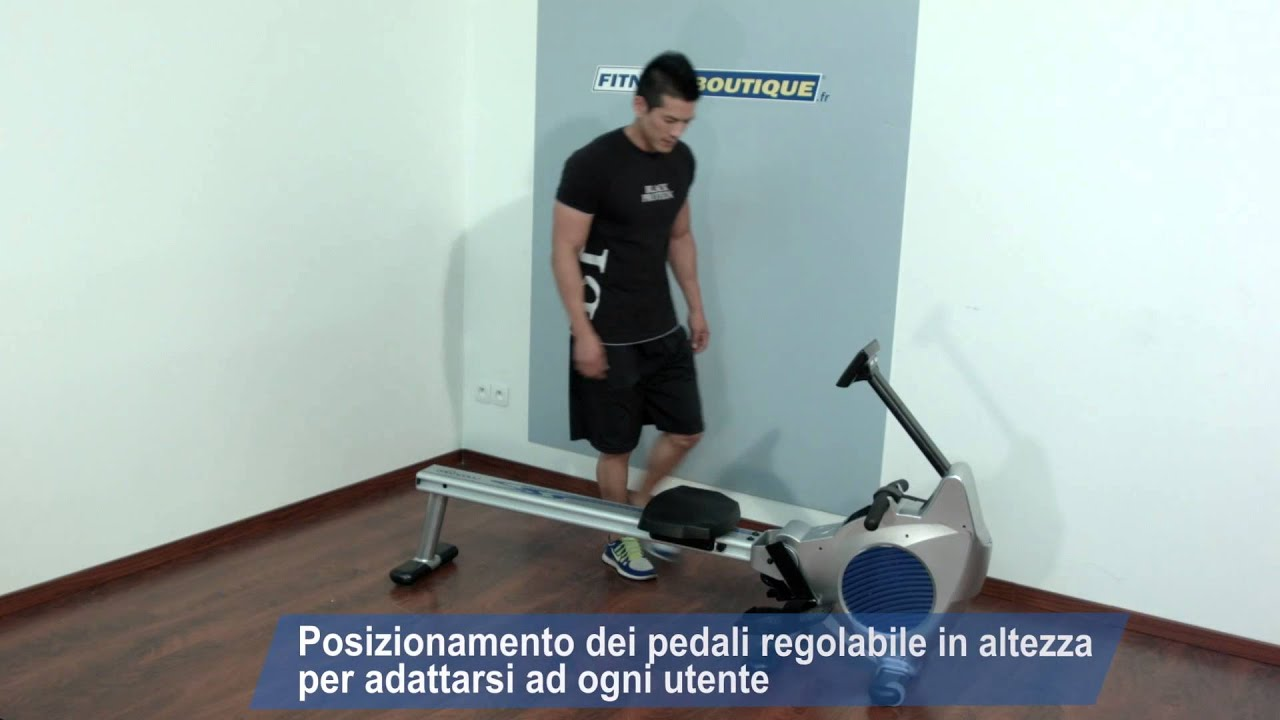 Vogatore Moovyoo Racing Rower Ii Youtube