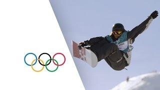 Kelly Clark Wins Snowboard Halfpipe Gold - Salt Lake City 2002 Winter Olympics