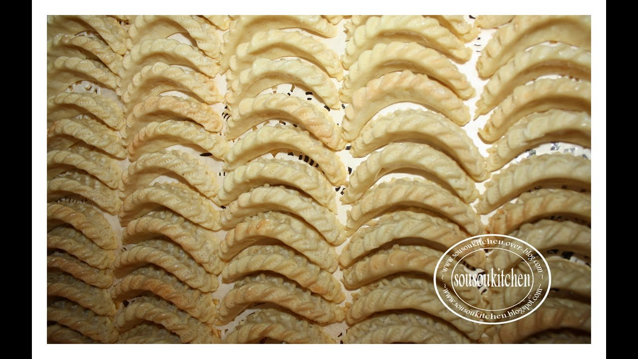 Recette des cornes de gazelle marocaine for Cuisine marocaine