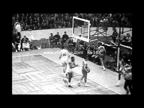 1964 NBA All Star Game Highlights