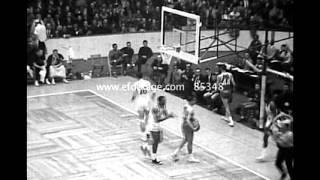 1964 NBA All Star Game Highlights