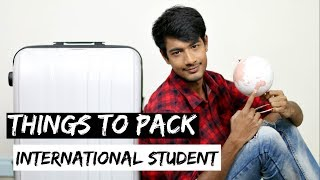 Things to Pack for studying abroad in AUSTRALIA | Fashion Tips for MEN