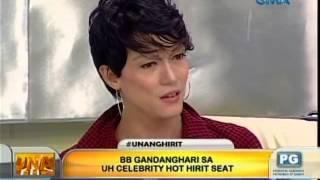 Unang Hirit: BB Gandanghari sa UH Celebrity Hot Hirit Seat