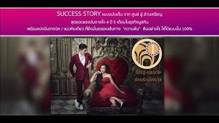 """Success Story เรื่องราวความสำเร็จ """"จากไม่มีสักล้านสู่ล้านเหรียญ""""  By โค้ชนิเนย ดลฤทัย"""