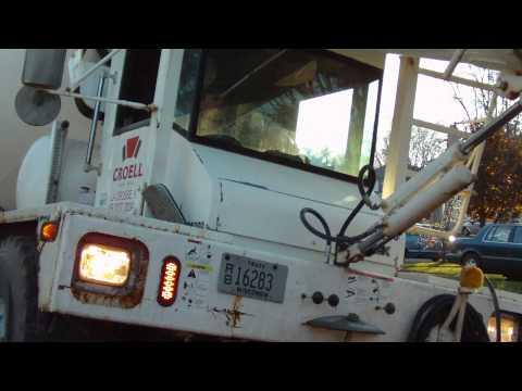 Cement Mixer Kid Video