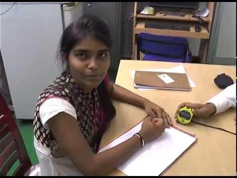 The World's Fastest Writer @ Spoorthi Pradhata Reddy