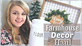 ❤ Farmhouse Home Decor Haul 2018 | MY FAVORITE FARMHOUSE FINDS |  Kirklands + MORE! KraftsbyKatelyn