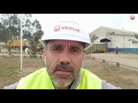 Veolia - Interview de Christian Salas, Responsable de la déchetterie d'El Molle, Chili