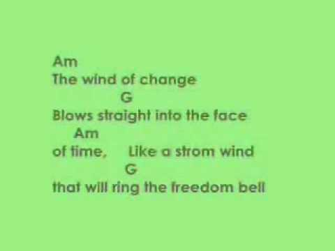 Scorpions_chords+lyrics_Wind of change