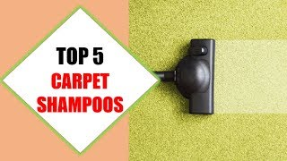 Top 5 Best Carpet Shampoos 2018 | Best Carpet Shampoo Review By Jumpy Express