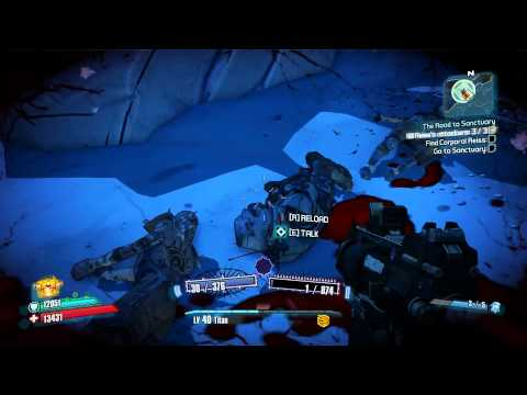 Borderlands 2 - The Transitioning (Gameplay/Commentary) [HD] Ep.3 |