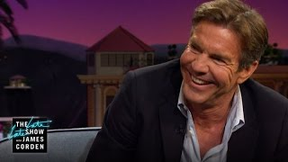 Dennis Quaid Can Turn on the English Charm