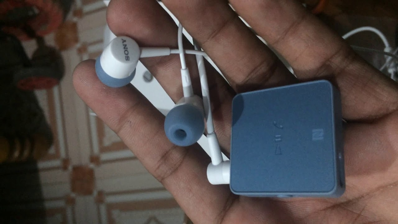 Sony Sbh24 Bluetooth Handsfree Unboxing Review Youtube