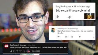 RESPONDENDO PERGUNTAS E COMENTÁRIOS - Não Sabe Usar Google, Não Dá Pra Agradar a Todos e Mais!
