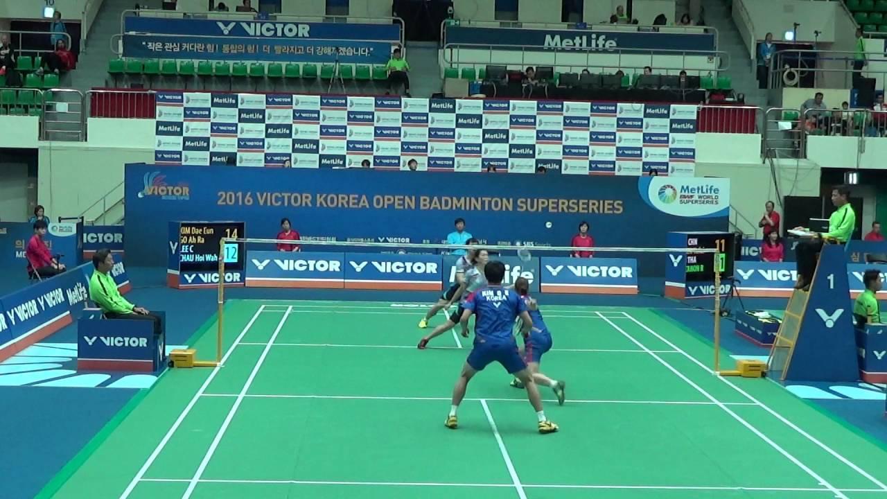 Victor Korea Open 2016 Badminton R16 XD