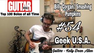 #54 Billy Corgan / Smashing Pumpkins - Geek U.S.A. solo cover by Kelly Dean Allen