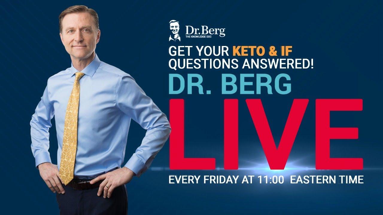 Download Dr. Berg Live Q & A