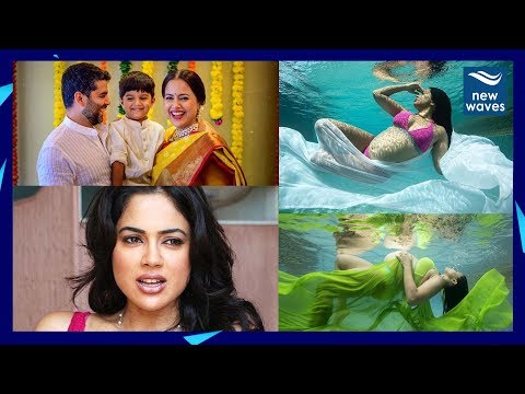 Actress Sameera Reddy Pregnant Photoshoot with Bikini | Baby Bump | New Waves Mp3