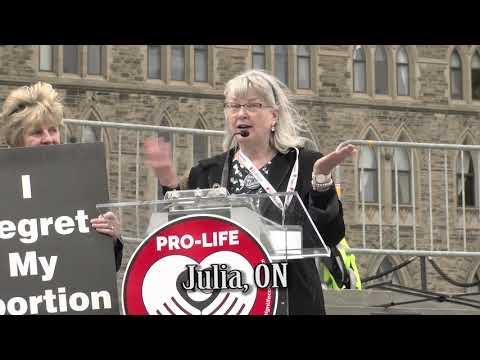 Julia's 2018 March for Life Ottawa Testimony