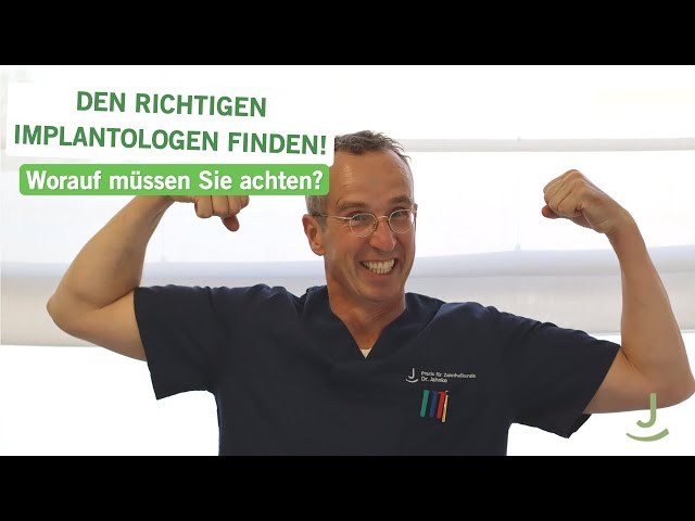 So finden Sie den richigen Implantologen! | Dr. Jahnke | #eifelimplants