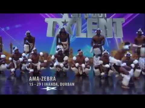 SA's got TALENT (amazing Zulu dance)