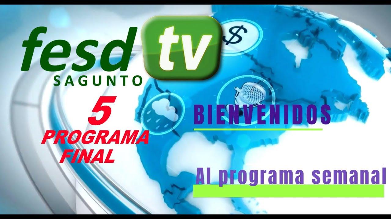 FESD•TV - SVFNEWS 5 - EDICIÓN CUARENTENA