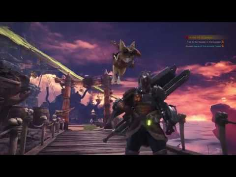 Monster Hunter: World - Jagras Of the Ancient Forest: Quest Details, Handler Chat, Switch Axe (2018)