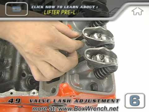 Valve Lash Adjustment Video - Engine Building Car Repair DVD