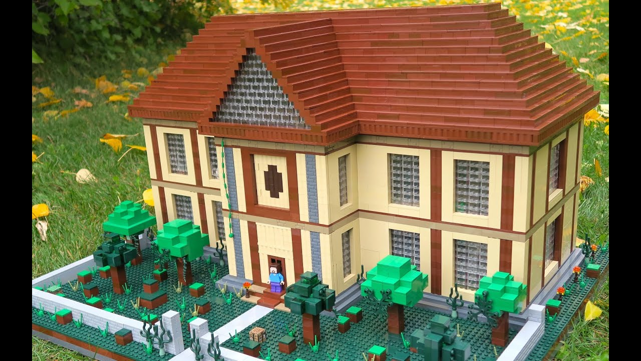 Lego Minecraft Herobrine U0026 39 S Mansion