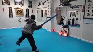 Kung Fu Kids - Sword Sparring Challenge