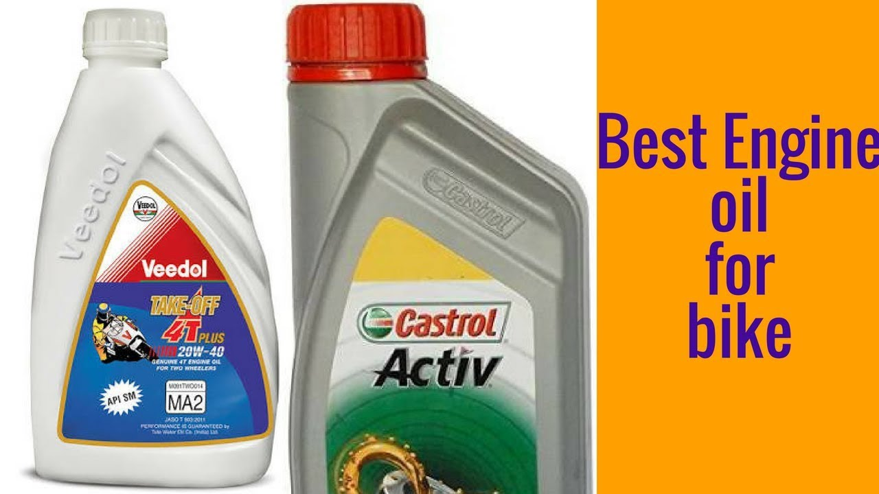 Castrol And Veedol Best Engine Oil For Bike Youtube