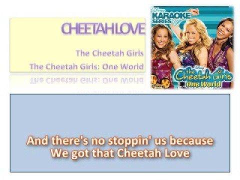 01 Cheetah Love - Official Karaoke / Instrumental (Lyrics)