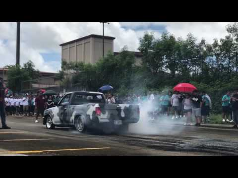 Southern High School AUTO SHOW 2017 (Burnout)