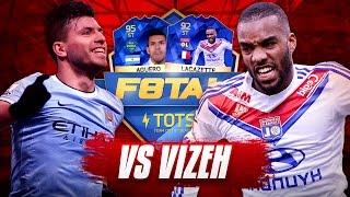 F8TAL TOTS AGUERO vs TOTS LACAZETTE!!! KNOCKOUT ROUND | FIFA 16