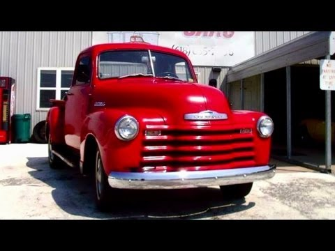 1952 Chevrolet Pickup Truck - Straight 6 - 3 spd Manual - Nice Solid Driver