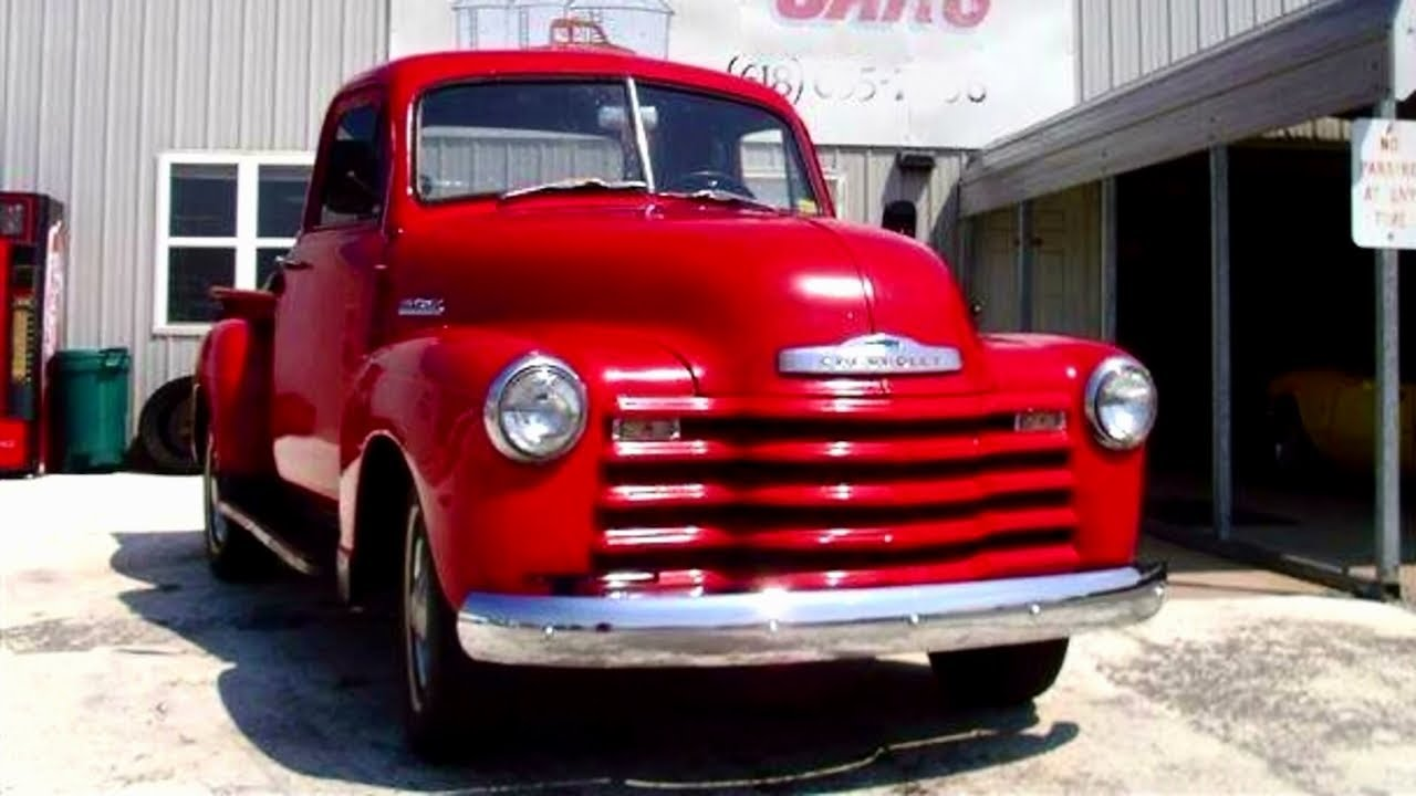 Pickup 1952 chevy pickup for sale : 1952 Chevrolet Pickup Truck - Straight 6 - 3 spd Manual - Nice ...