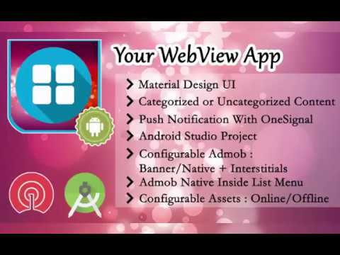 webview app android studio source code