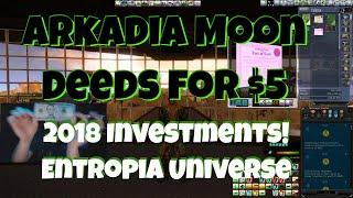 Arkadia Moon Deeds Are Now Being Sold in Entropia Universe