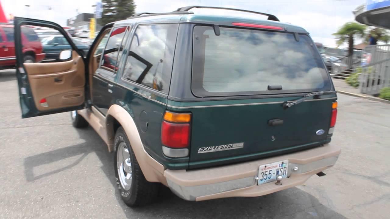 1996 ford explorer green stock tr11093