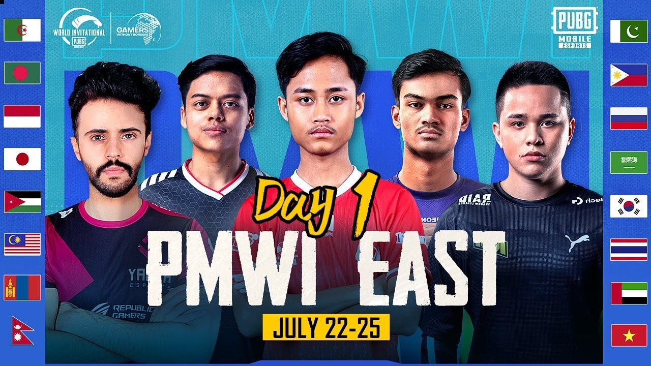 2021 PMWI East/West Day 1 | Gamers Without Borders | 2021 PUBG MOBILE World Invitational