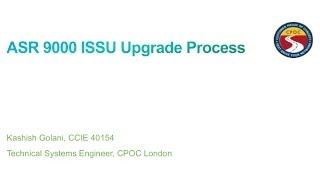 ASR 9000 XR Upgrade using ISSU