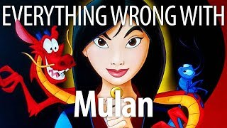 Everything Wrong With Mulan In Mushu Minutes